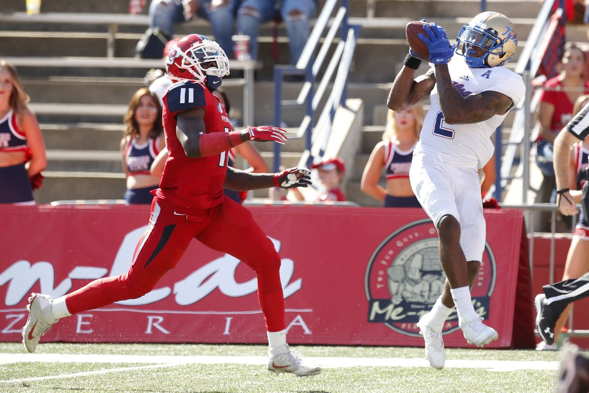 NCAA Football: Tulsa at Fresno State