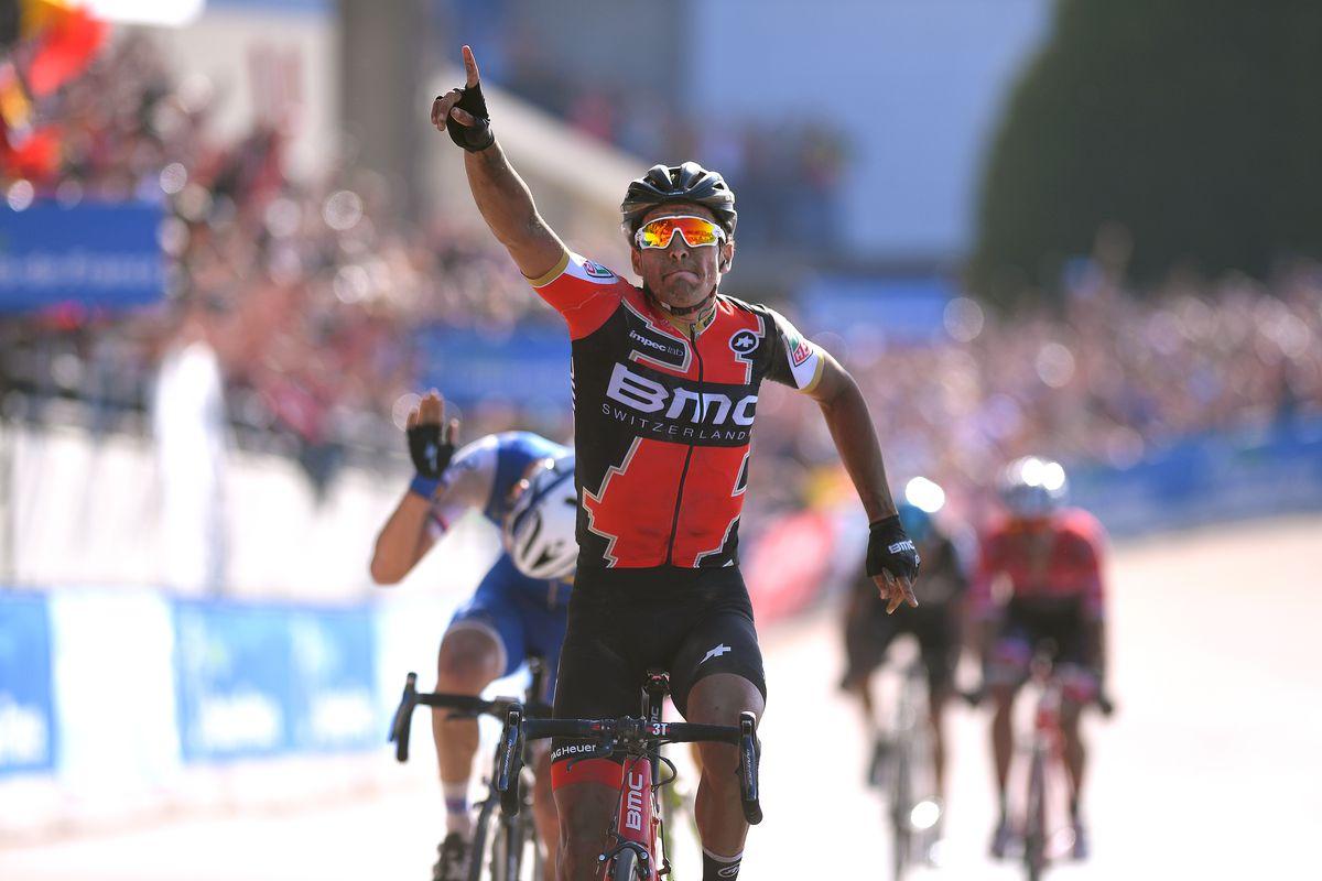 Van Avermaet wins Roubaix
