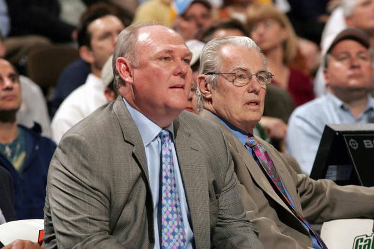 George Karl and Doug Moe both played for Dean Smith's UNC Tar Heels.