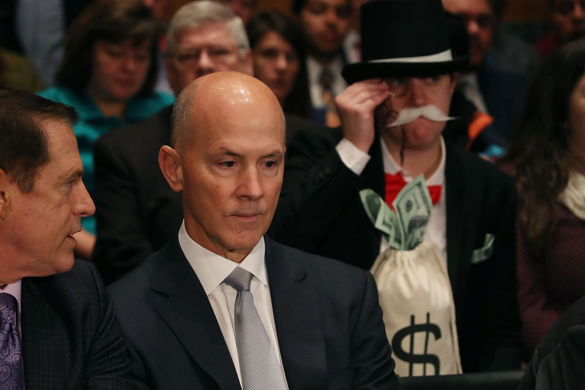Former Equifax CEO Richard Smith Testifies To Senate Banking Committee On Company's Recent Massive Data Breach