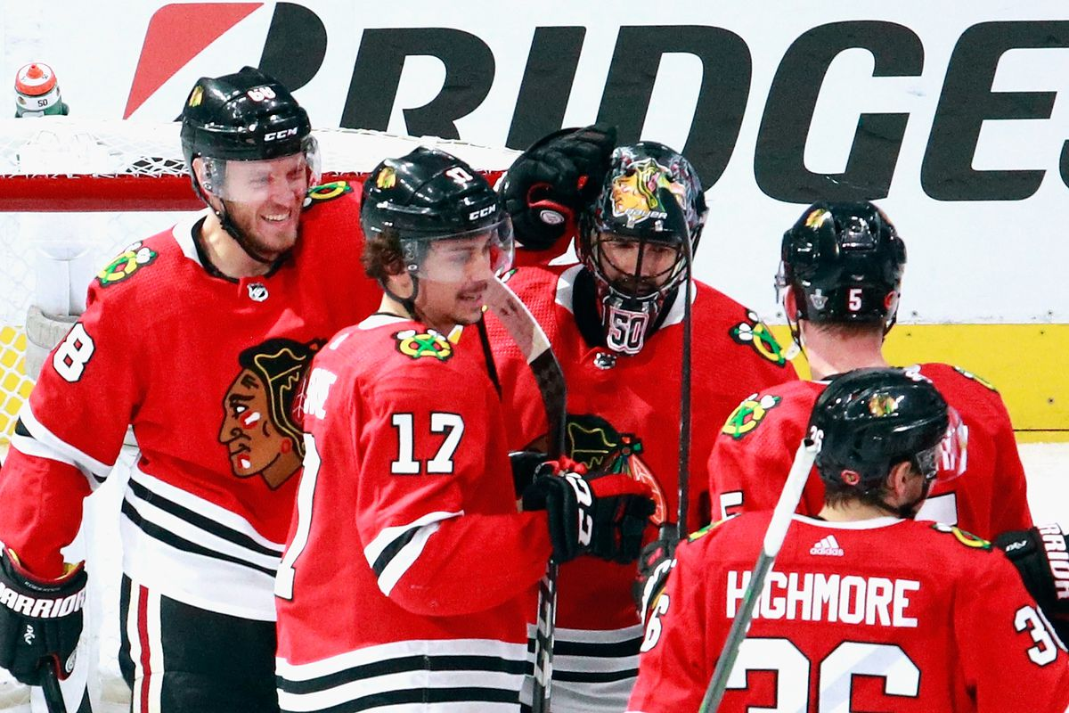 The Blackhawks yet again bounced back for a crucial — this time season-extending —win on Sunday night.