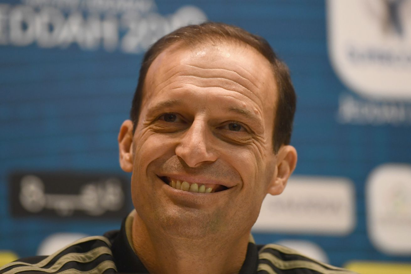 Allegri: Supercoppa is good practice to prepare for Champions League