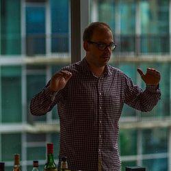 Greg Best at the Build a Bar Workshop