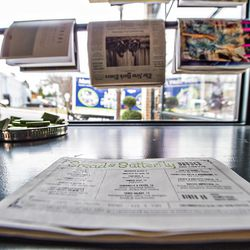 Grab something to read while looking at the menu at Bread & Butterfly.