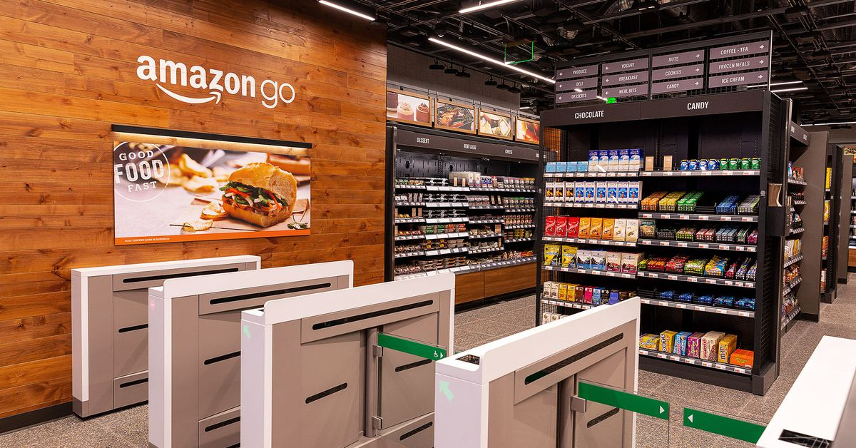 Amazon S Latest Cashier Less Go Store Opens In San