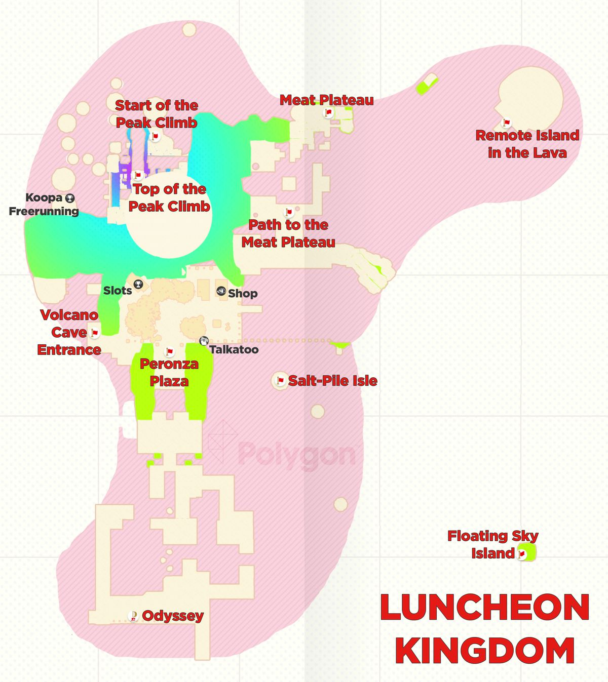 Super Mario Odyssey guide: Luncheon Kingdom all power moon