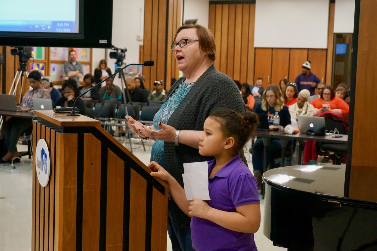 Anna Chaney is a parent at School 14, which will be restarted as an innovation school.