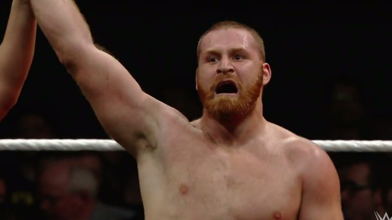 Watch Sami Zayn's first televised match in almost eight ...