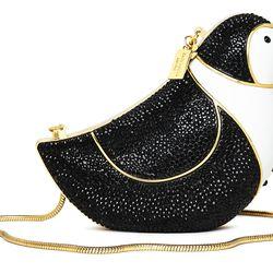 Wedding Belles Penguin Suit Clutch ($398)