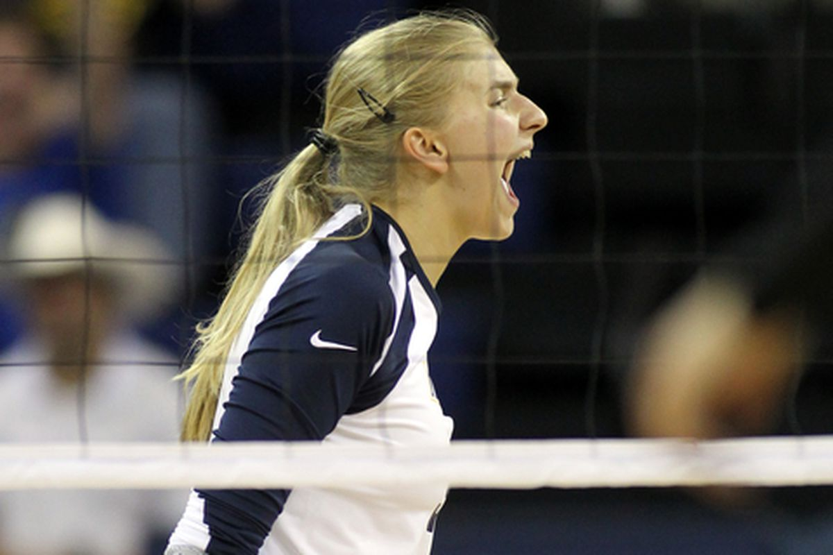 You can howl all you want when you have 23 kills like Nele Barber did against Butler.