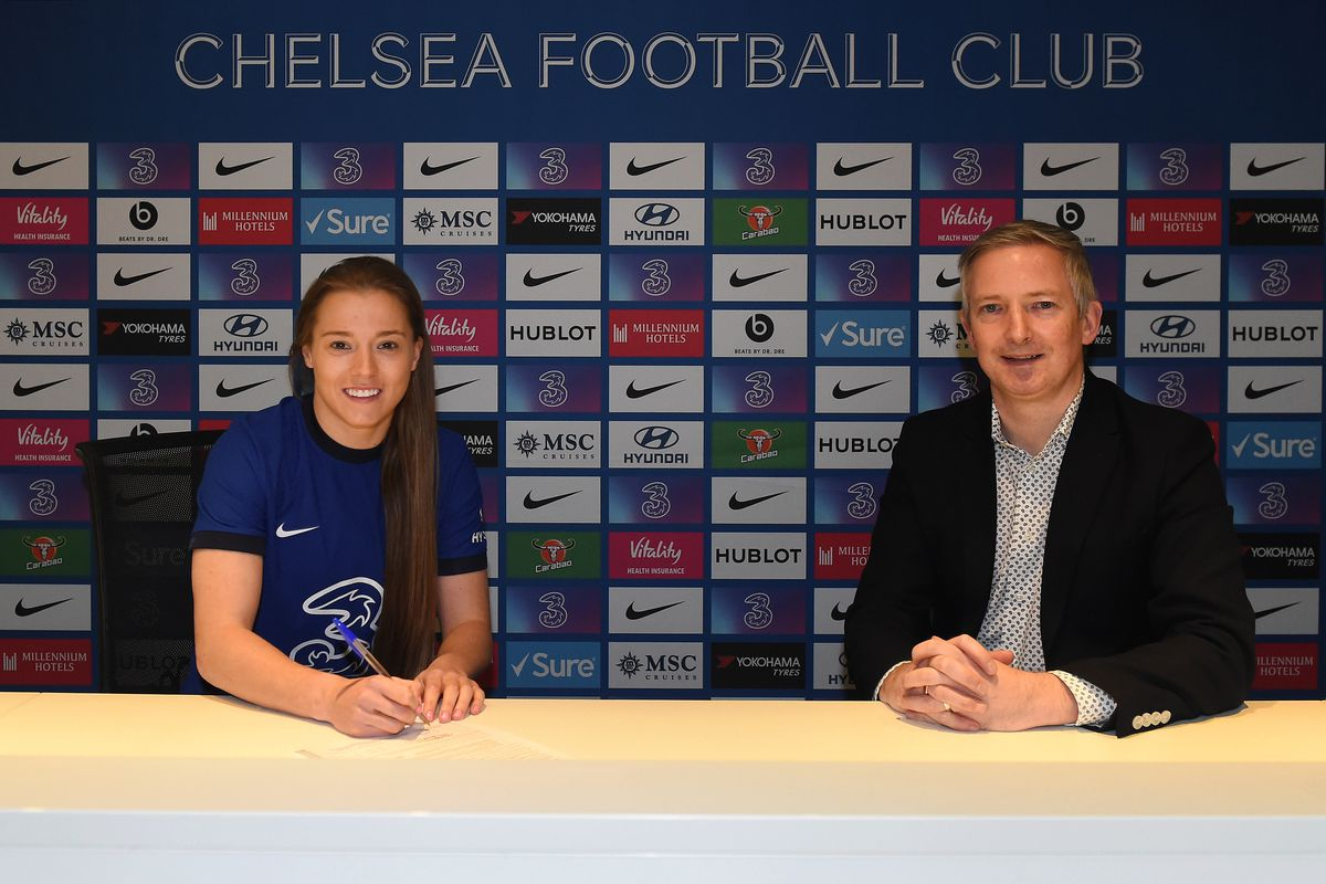 Fran Kirby Signs Contract Extension With Chelsea Women