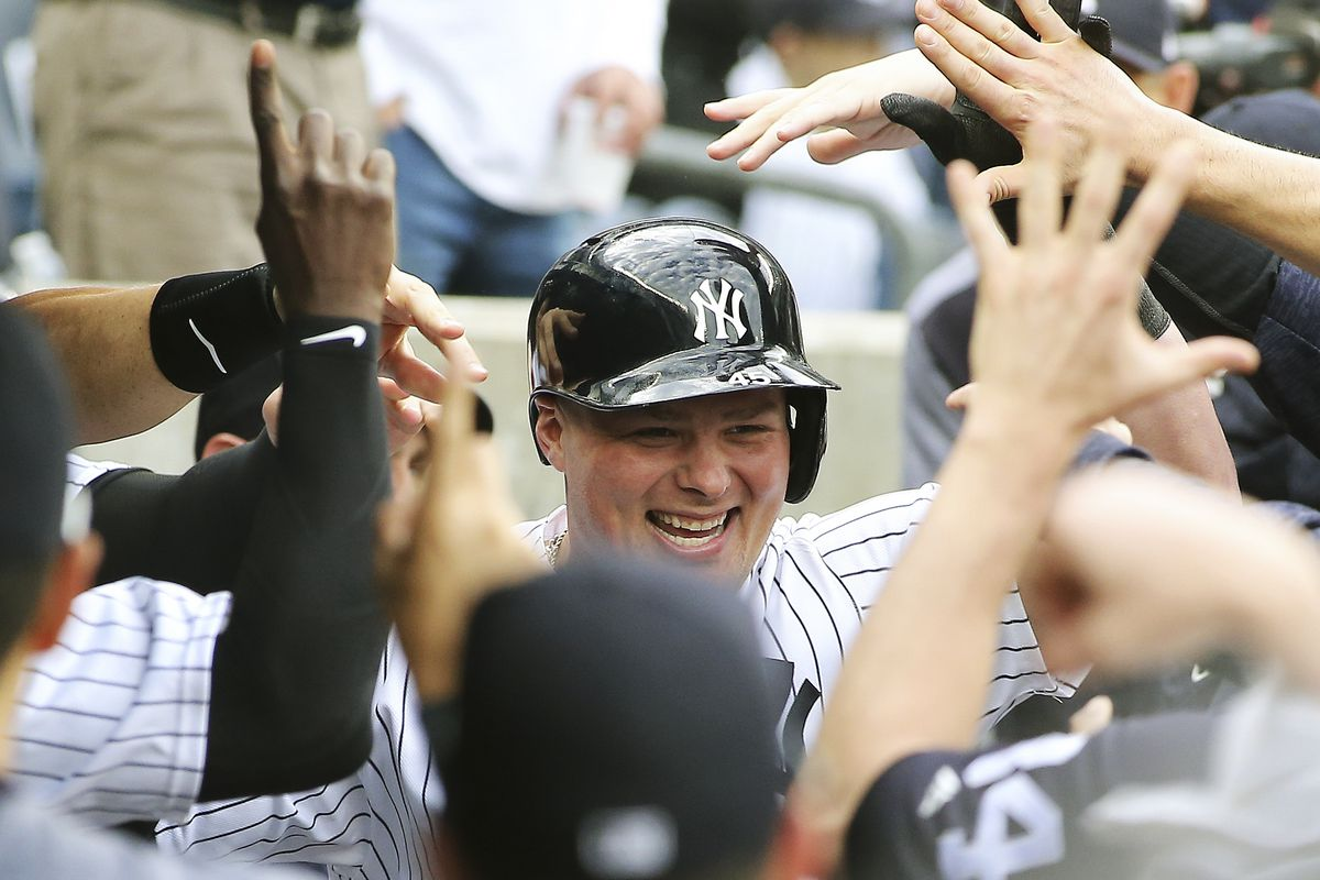 Luke Voit helped the Bombers clinch a playoff spot against the Orioles at Yankee Stadium on Saturday by belting his 11th home run in pinstripes.