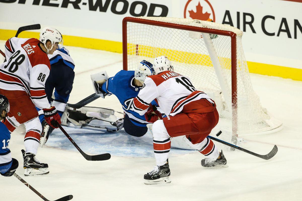 NHL: Carolina Hurricanes at Winnipeg Jets