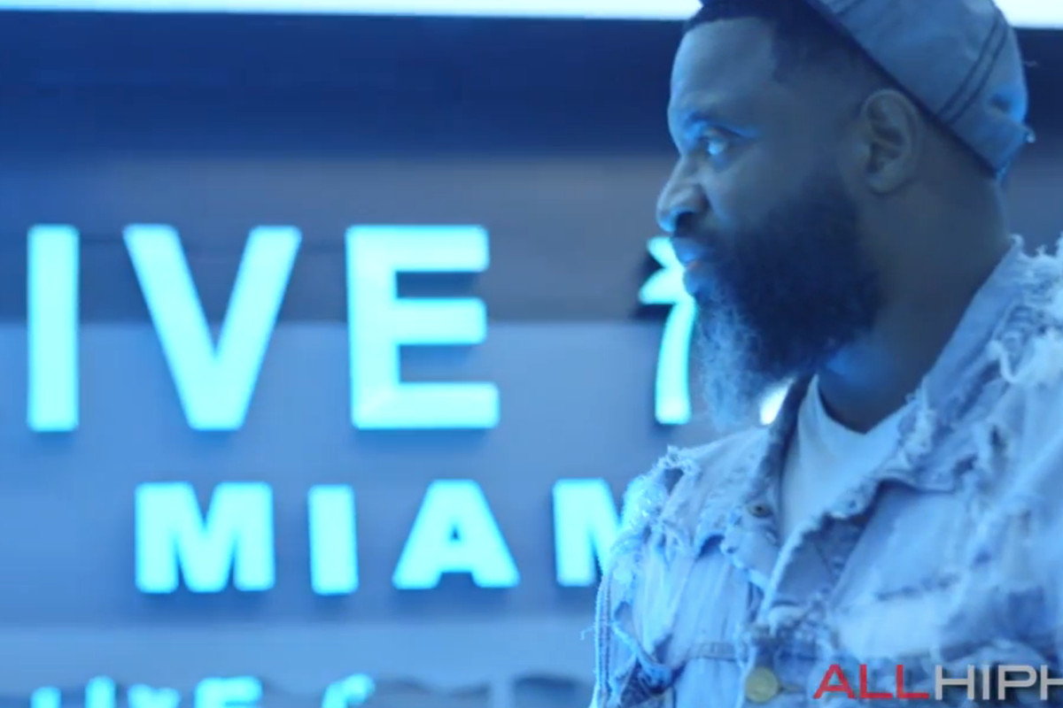 Akinyele at his new club space on South Beach