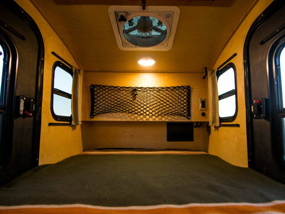 Tiny Camper Trailer Sleeps 2 For Under 12 000 Curbed