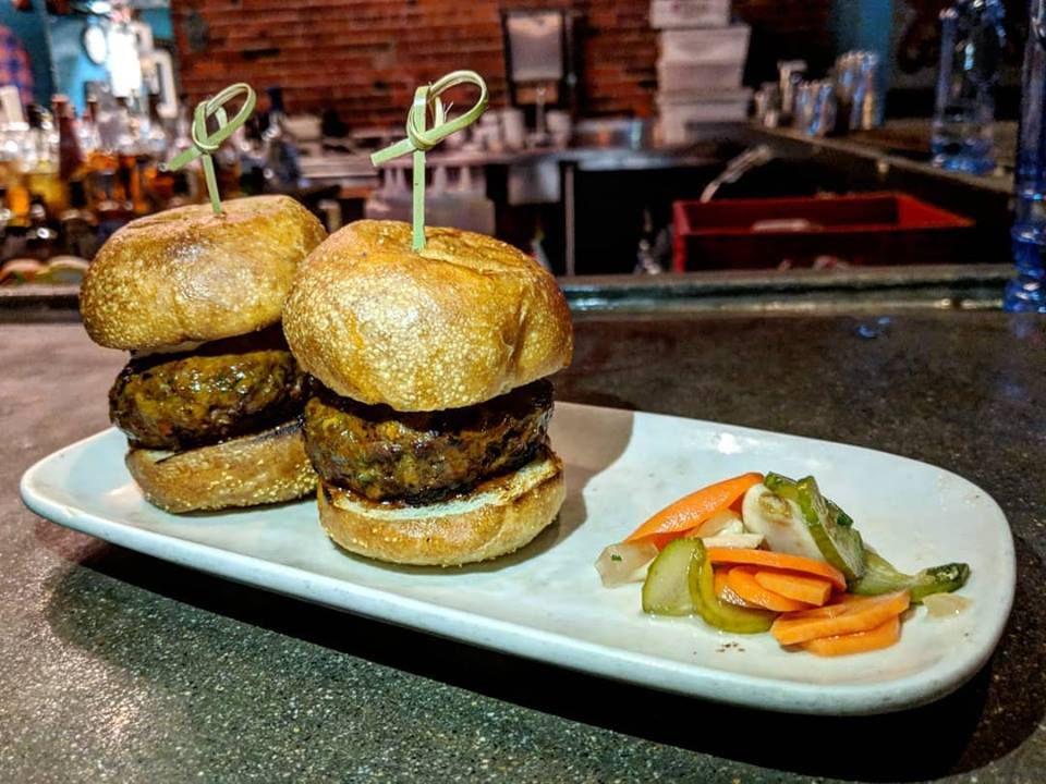 Lamb kofte sliders from Sarma's late-night menu