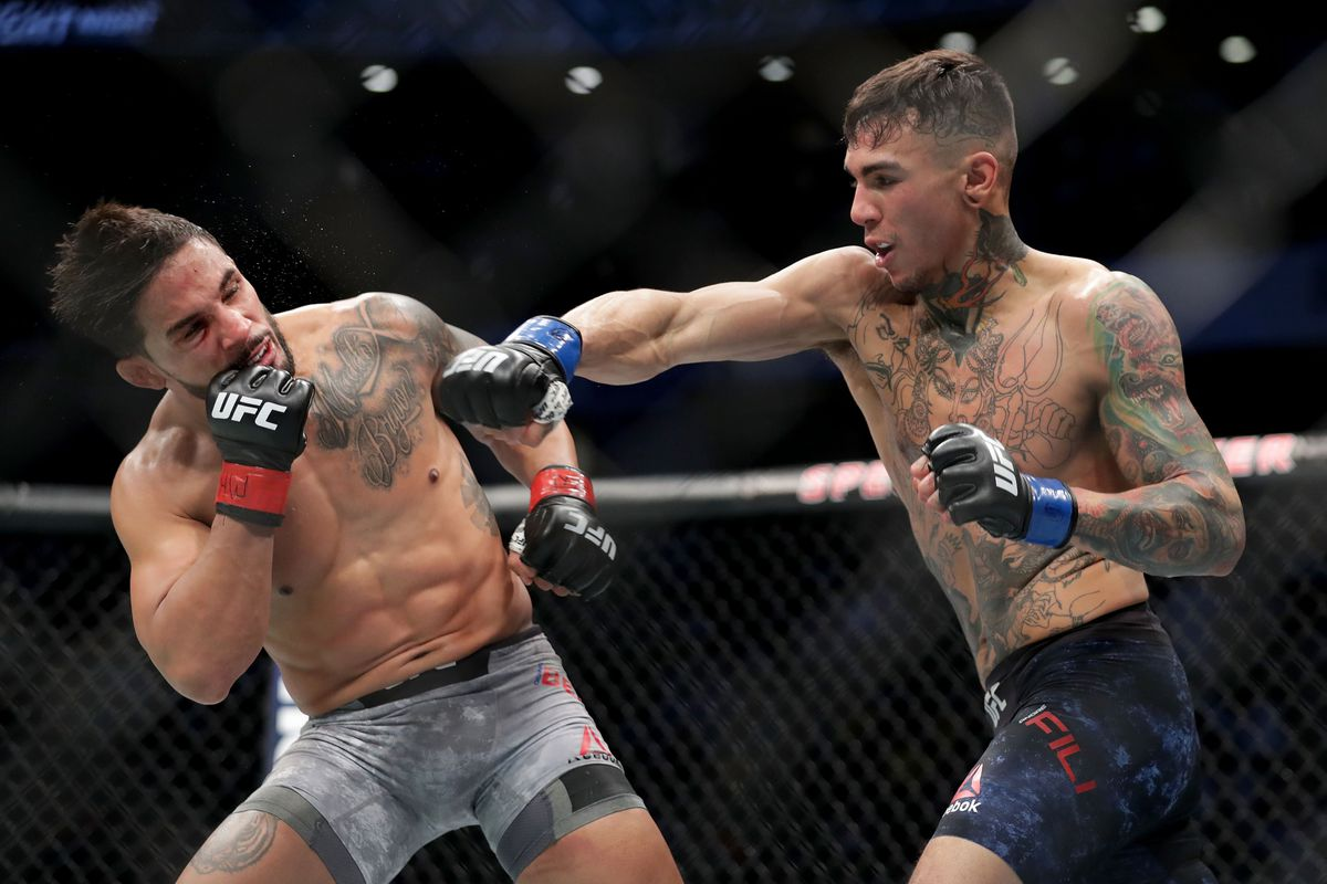 UFC on FOX 27 results: Andre Fili takes split decision from Dennis Bermudez  - MMA Fighting