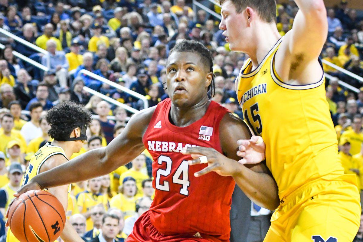 COLLEGE BASKETBALL: MAR 05 Nebraska at Michigan