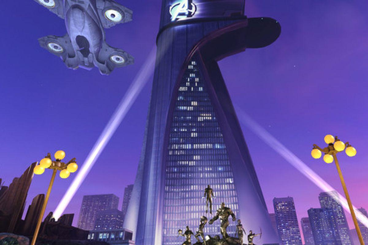 Disney releases vr movie app that lets you tour avengers for Tour avengers