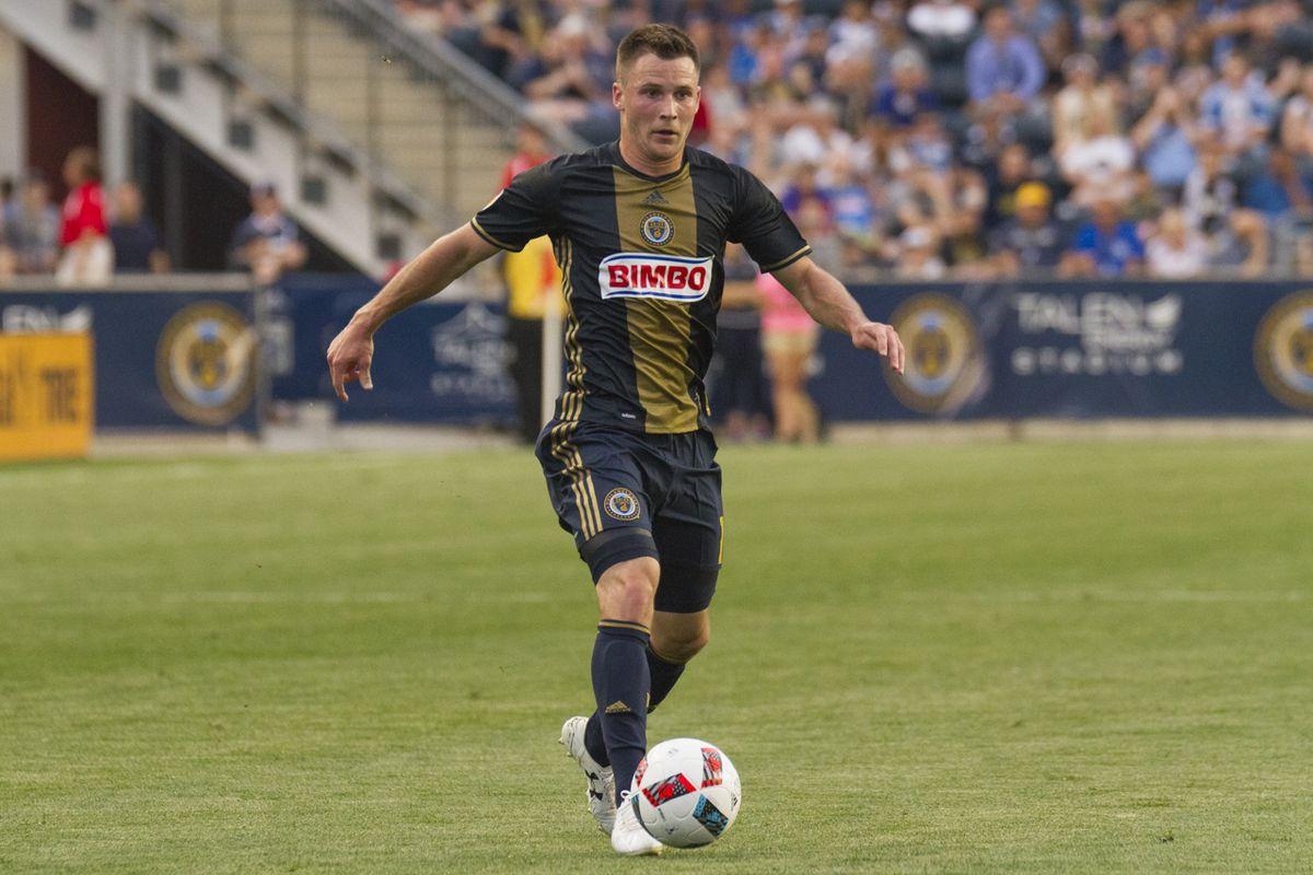 The Philadelphia Union's Keegan Rosenberry is second in the latest MLS Rookie Rankings.