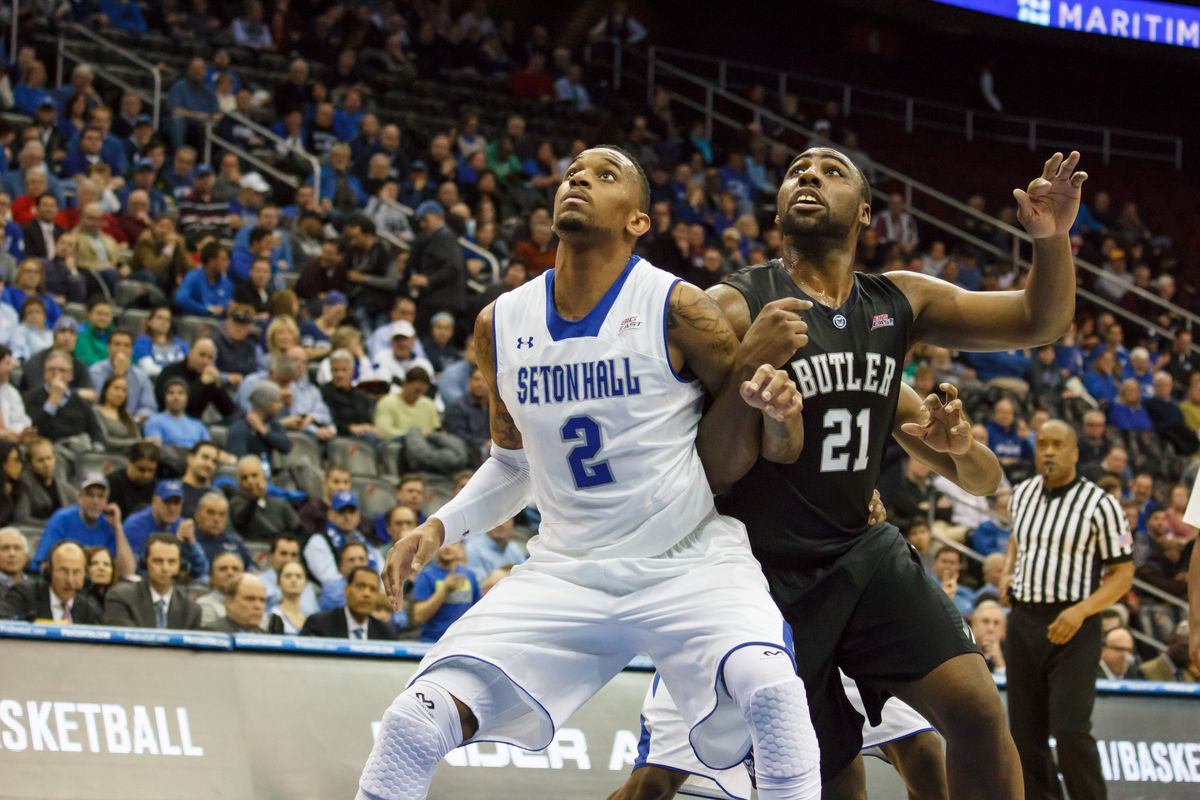 Roosevelt Jones was just one Bulldog that attacked the glass for Butler.