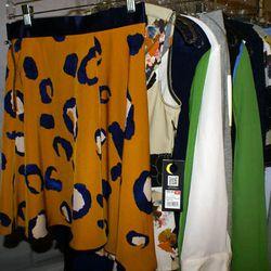 Silky Skirt in Animal Print, $29.99
