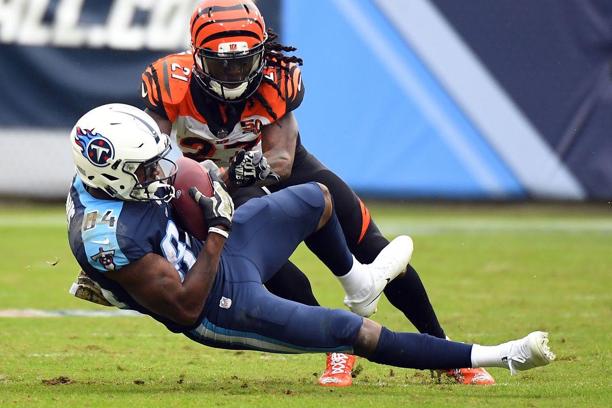 NFL: Cincinnati Bengals at Tennessee Titans