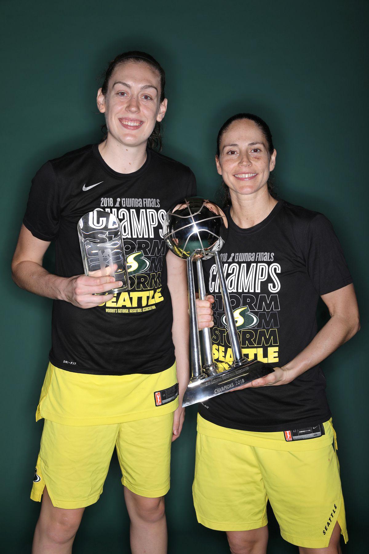 WNBA Finals - Game Three Post Game Portraits