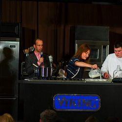Southern Chemistry demonstration with the Lee brothers and Andrea Reusing