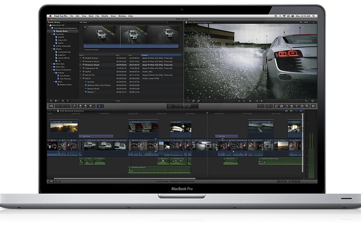 Apple is selling Final Cut, Logic, and other editing apps