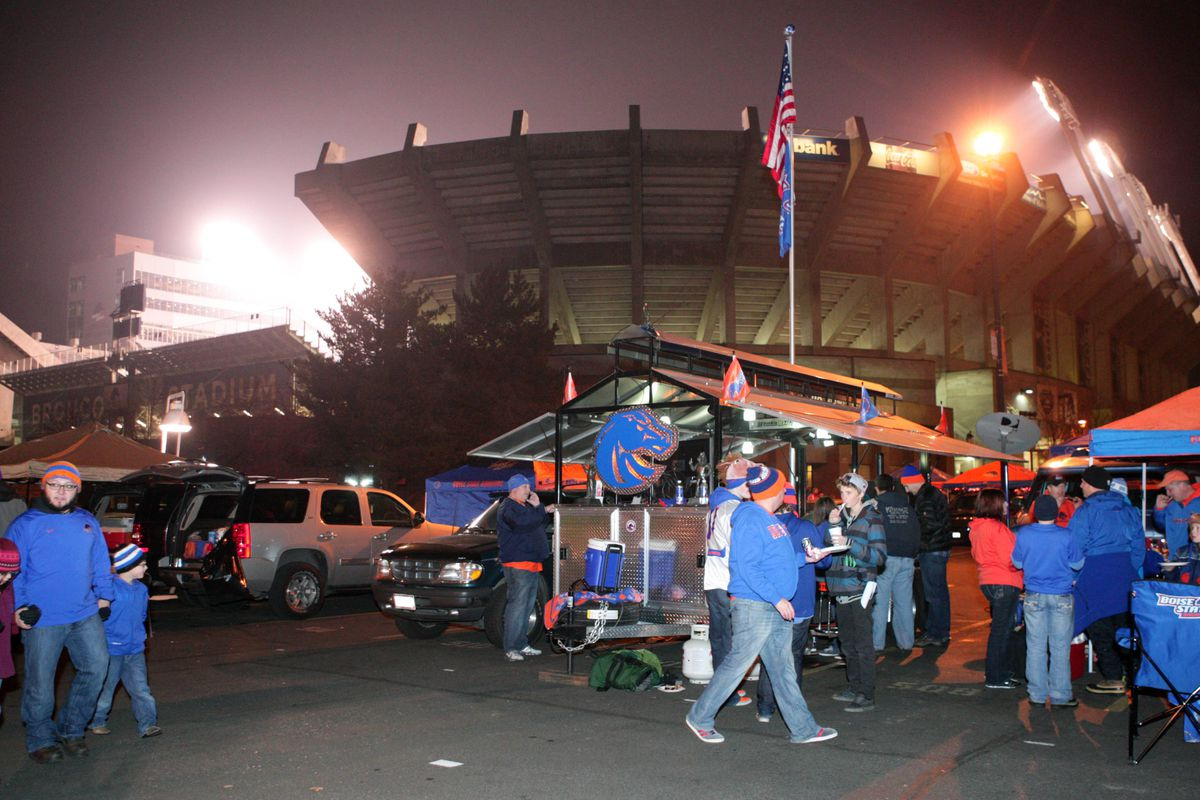 Bronco Stadium, in Boise, Idaho gets new name.