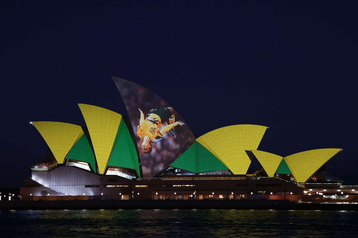 Sydney Opera House Lights Up Ahead of 2023 FIFA Women's World Cup Host Announcement