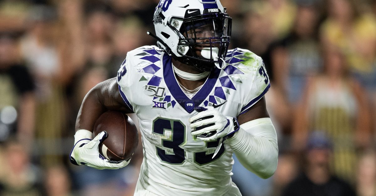 Chargers have meeting scheduled with TCU's Sewo Olonilua