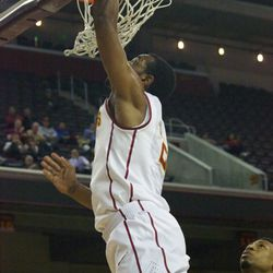 Roschon Prince with the layup.