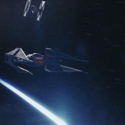 "A scene from ""Star Wars: The Last Jedi."""