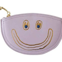 """Covet + Lou half moon pouch, <a href=""""http://covetandlou.com/collections/accessories/products/paris-house-dont-be-stupid-half-moon-in-lavender"""">$47</a>"""
