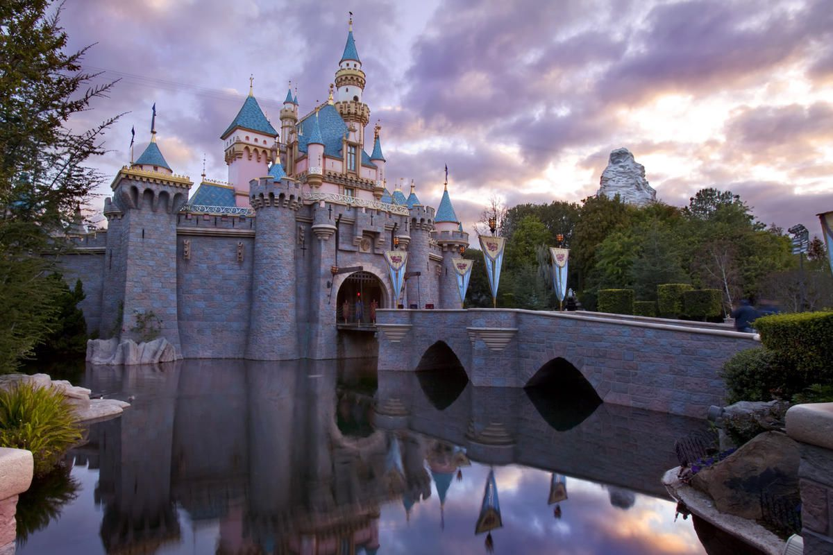Sleeping Beauty Castle at Disneyland is the centerpiece of Fantasyland.