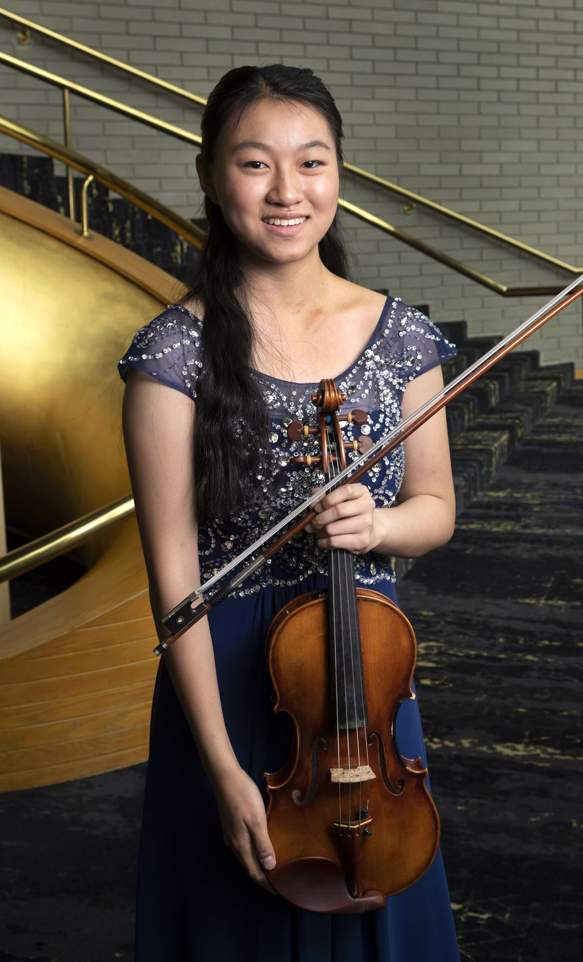2019 Salute to Youth performer Ellen Hayashi in Abravanel Hall in Salt Lake City on Friday, Aug. 9, 2019.