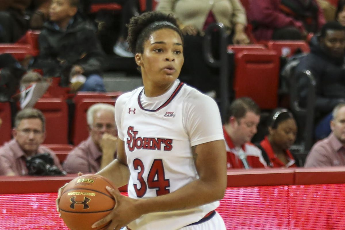 pick up 1e3b0 cbcd3 St. John's women look to bounce back in Albany vs Great ...