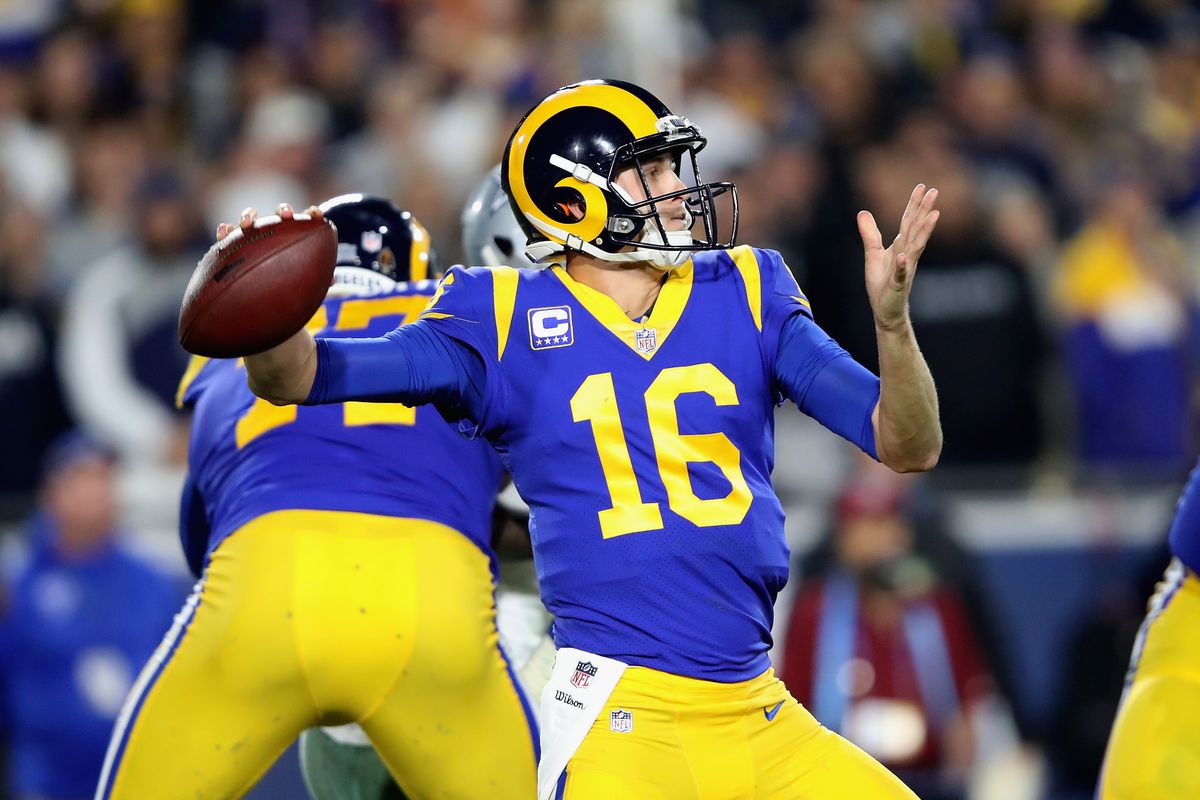 new product eb382 091ba LA Rams to wear throwbacks in Superbowl 53 - Turf Show Times
