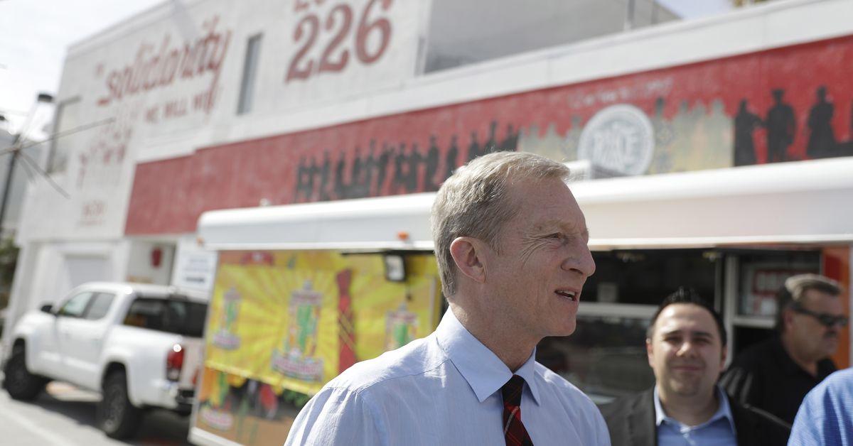 Inside Tom Steyer's Nevada Caucus Taco Party