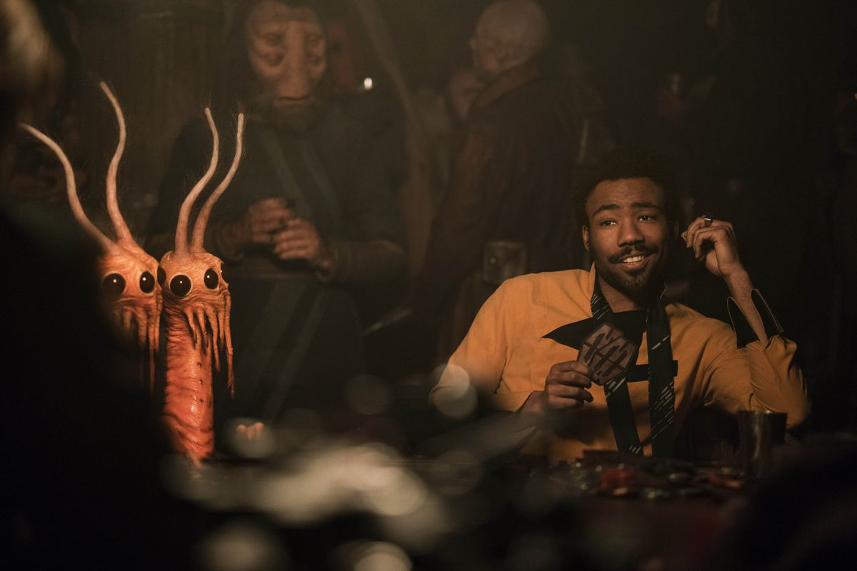 Candid Camera Star Wars : Solo a star wars story writer explains sequel thandie newton