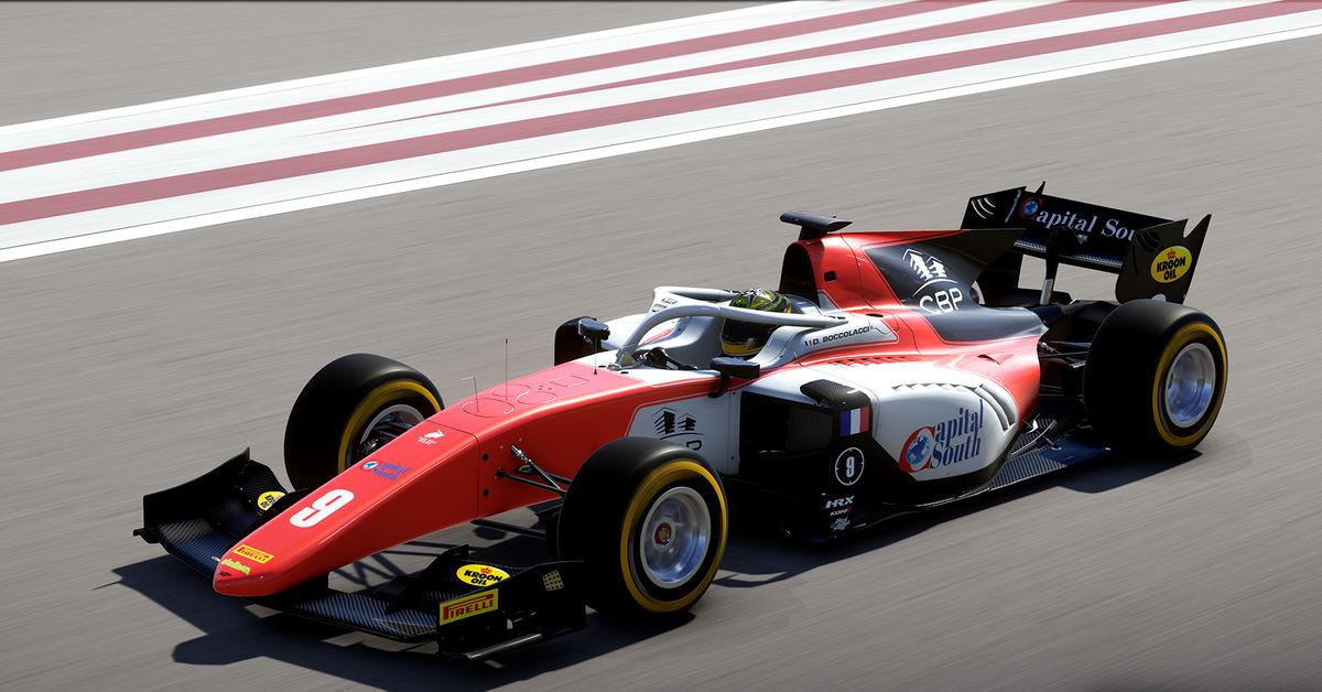 Watch this F1 multiplayer driver get Office Linebacker'd ...