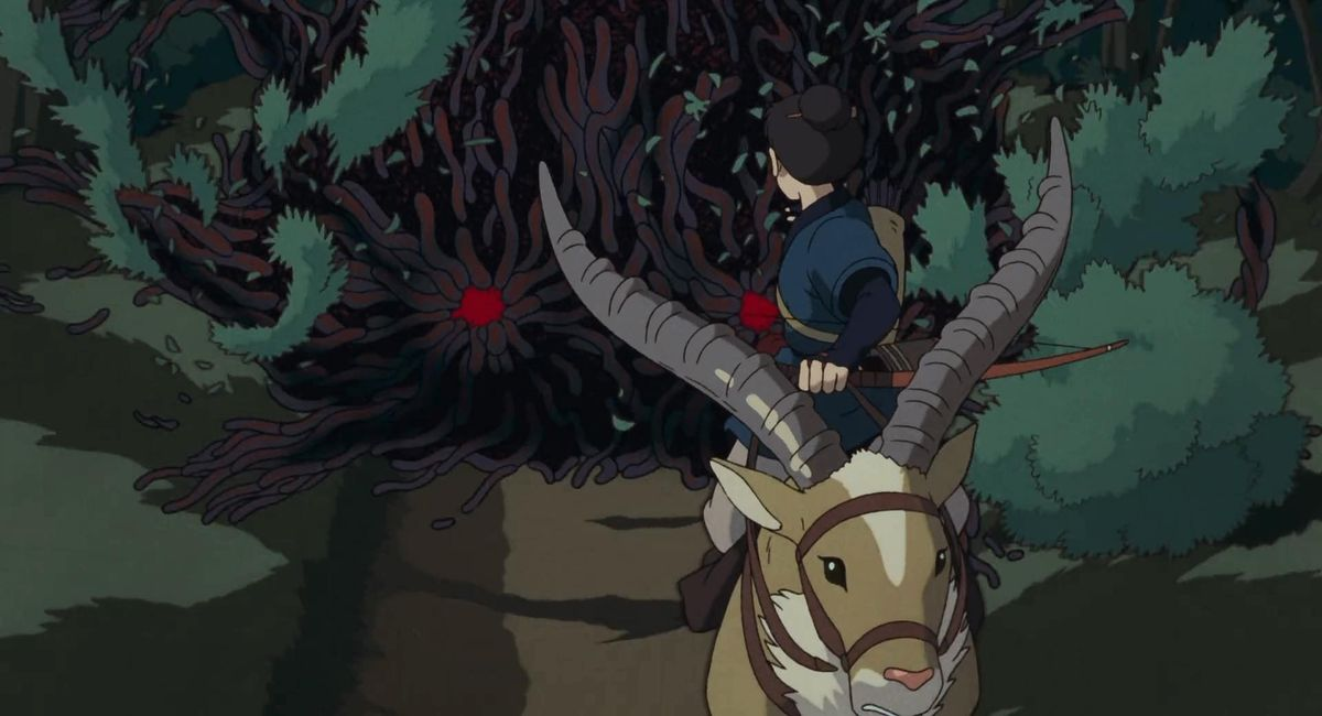 Princess Mononoke Breaks Studio Ghibli Movie Rules To Tell A