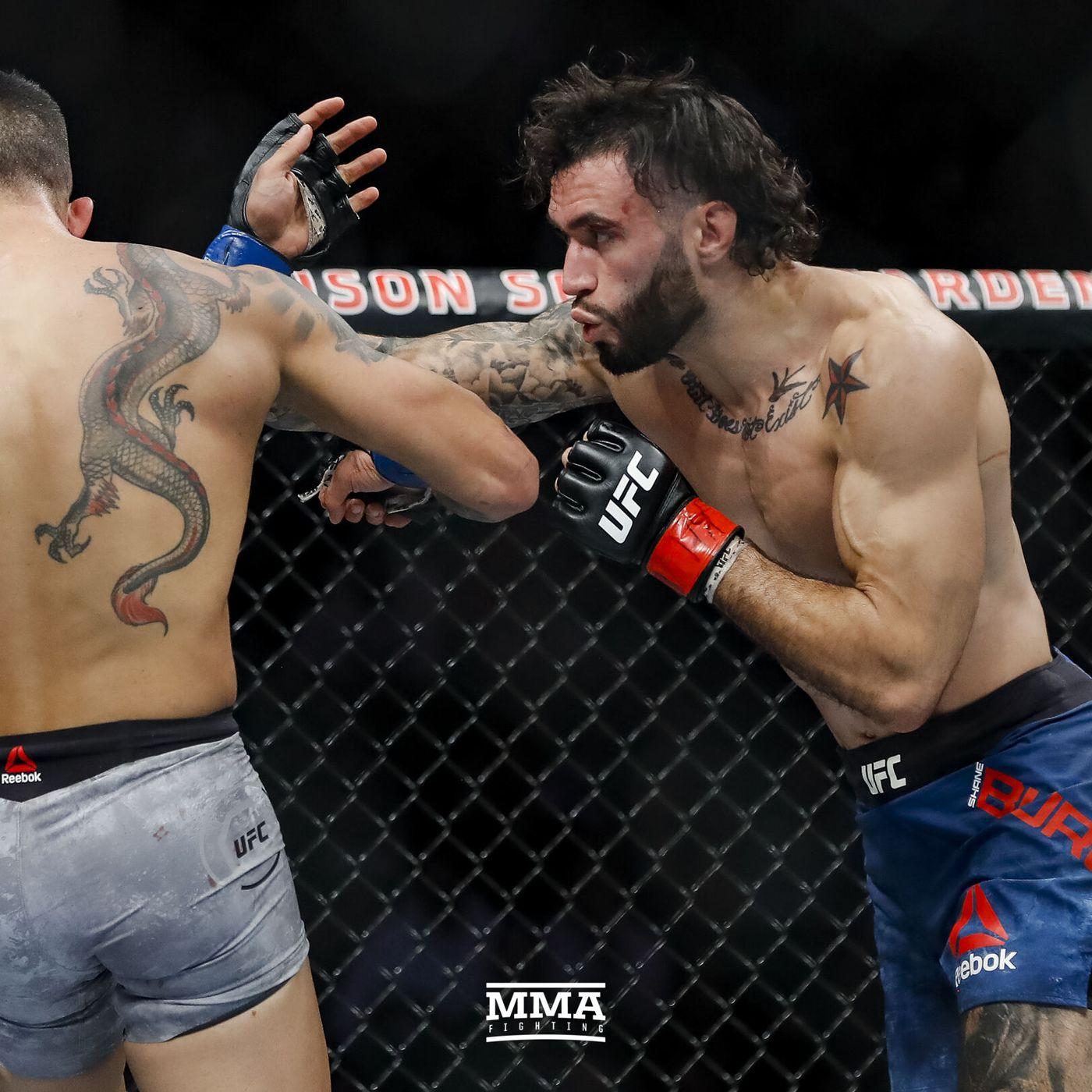 Shane Burgos Vs Hakeem Dawodu Added To Ufc 257 Mma Fighting