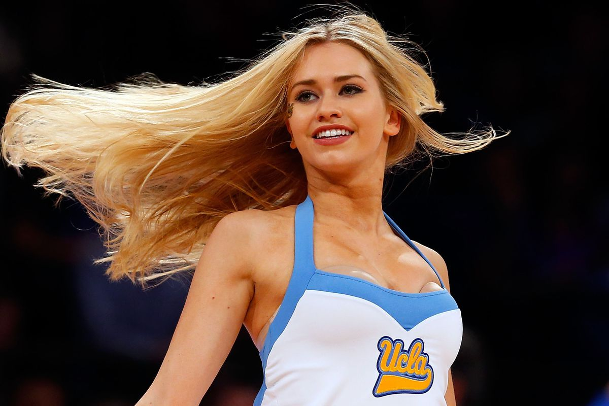 UCLA Spirit came out for two halves last night.