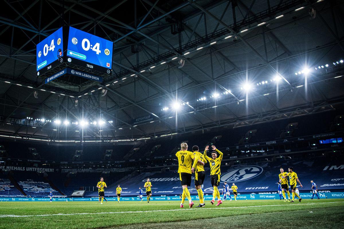 FC Schalke 04 v Borussia Dortmund - Bundesliga for DFL