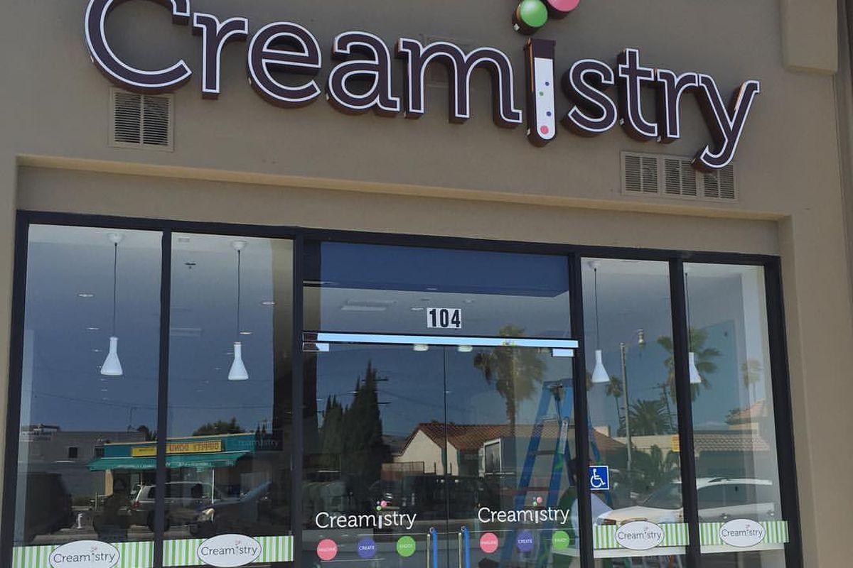 Creamistry in Costa Mesa, California