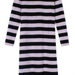 "Tibi stripe knit dress, <a href=""http://www.tibi.com/shop/dresses/cozy-stripe-dress"">$430</a>"