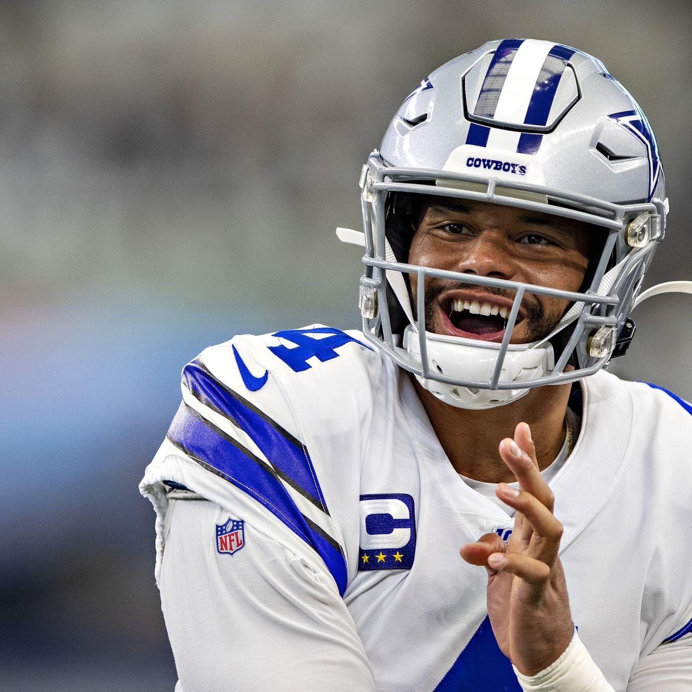 Dallas Cowboys Dak Prescott Fun With Next Gen Stats Blogging The Boys